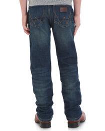 Wrangler Retro Boys' (1-7) Slim Stretch Jeans - Straight, , hi-res
