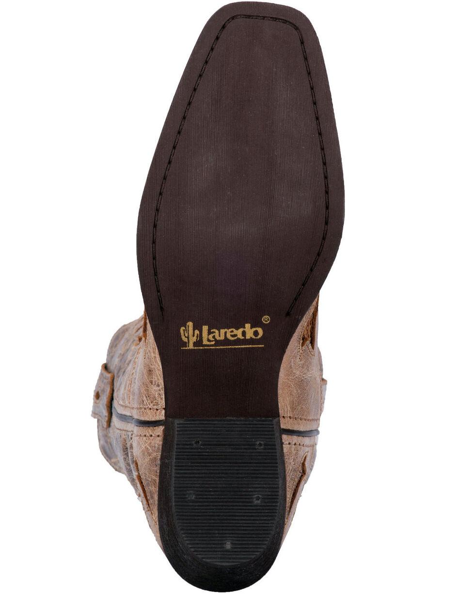 Laredo Women's Leather Roxanne Western Boots, Tan, hi-res