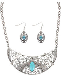 Shyanne® Women's Turquoise Jewelry Set, , hi-res