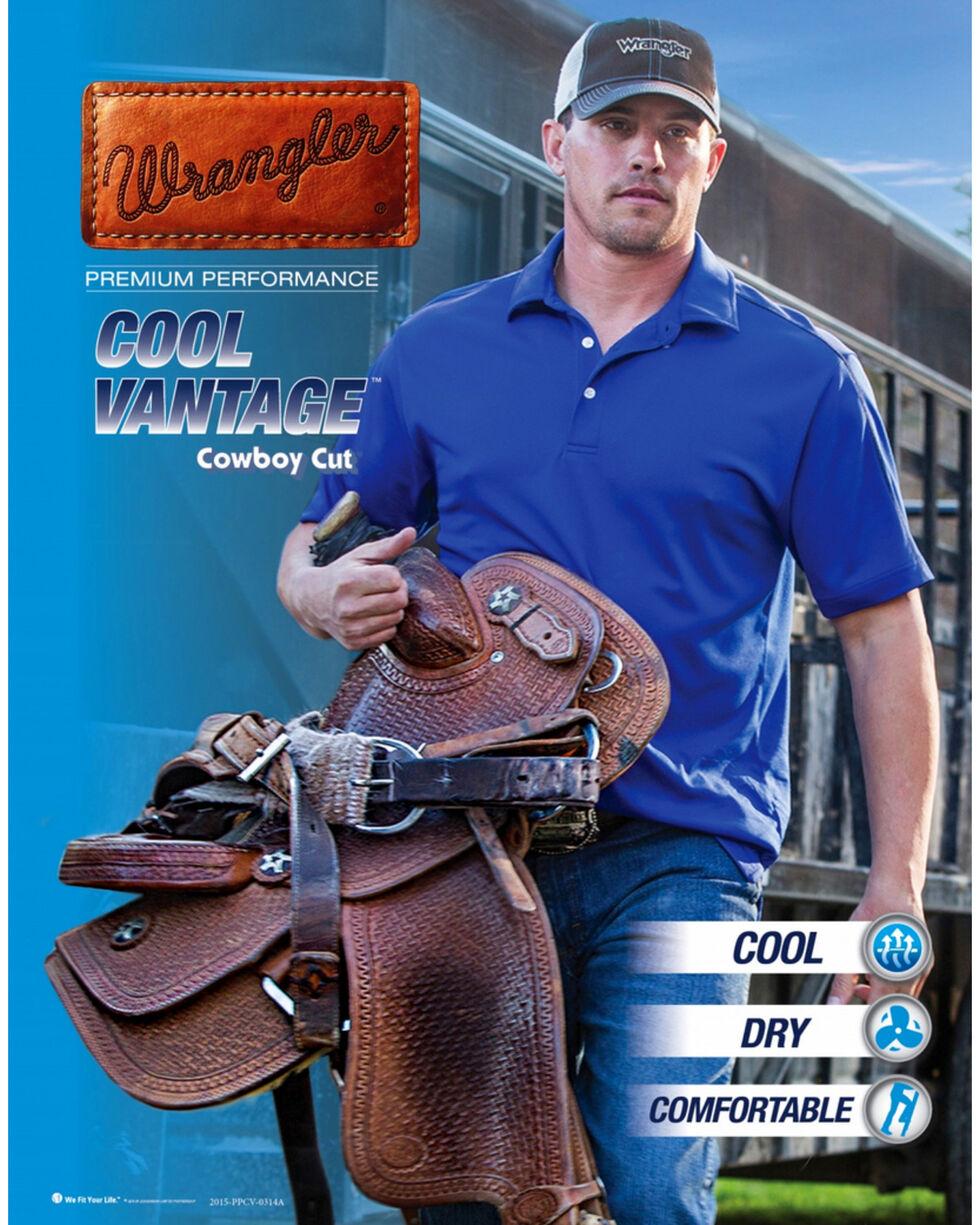 Wrangler Men's Slim Fit Cool Vantage Cowboy Cut Jeans, Dark Stone, hi-res