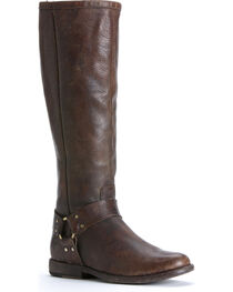 Frye Women's Philip Harness Tall Boots, , hi-res