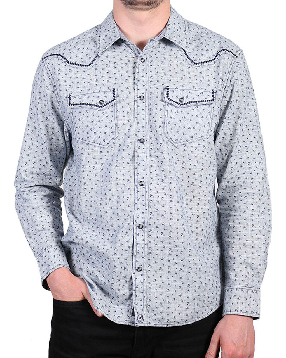 Moonshine Spirit® Men's Floral Long Sleeve Shirt , , hi-res