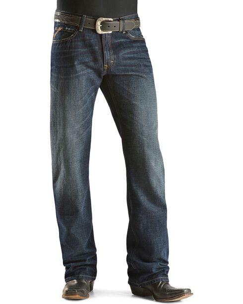 Ariat Men's M4 Roadhouse Boot Cut Jeans, Dark Stone, hi-res