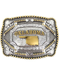 Cody James Oklahoma Belt Buckle, , hi-res