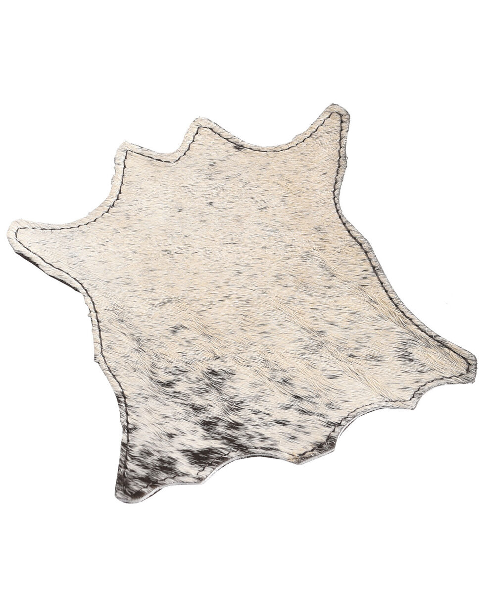 BB Ranch Mini Cowhide Coaster, Multi, hi-res
