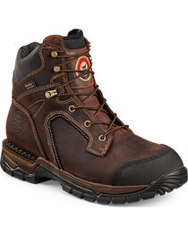 Red Wing Irish Setter Two Harbors Hiker Work Boots - Steel Toe  , , hi-res