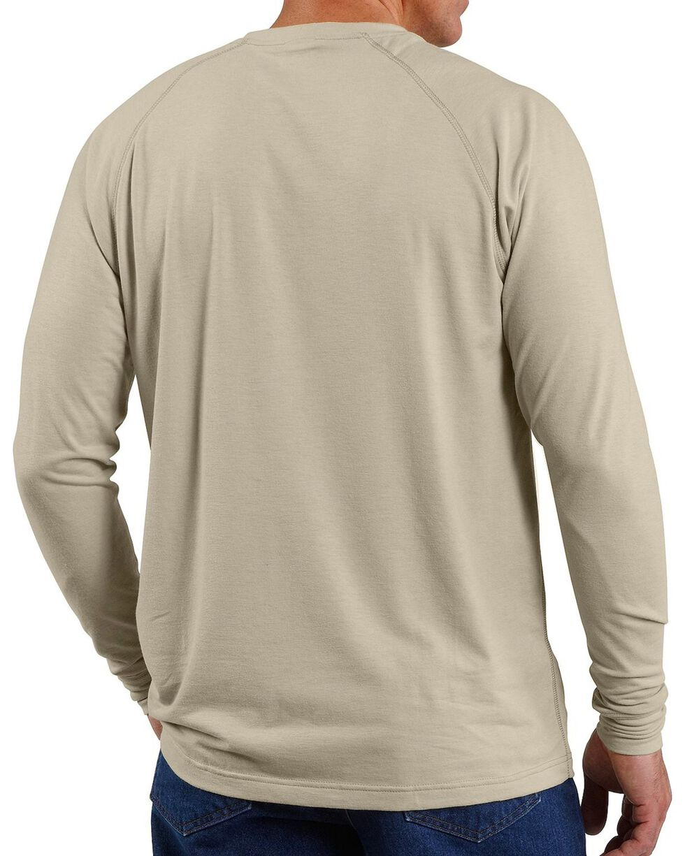 Carhartt Men's Flame Resistant Force T-Shirt, Sand, hi-res