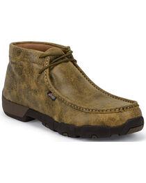 Justin Men's Bomber Steel Toe Work Shoes, , hi-res