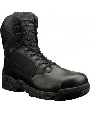 Magnum Men's Stealth Force Side Zip Composite Toe Work Boots, Black, hi-res