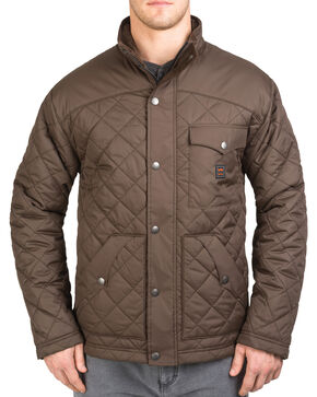 Walls Men's Brownwood Nylon Ranch Jacket, Brown, hi-res