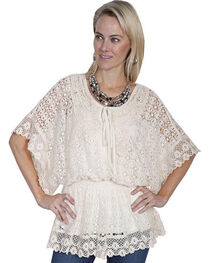 Scully Women's Crochet Blouse, , hi-res