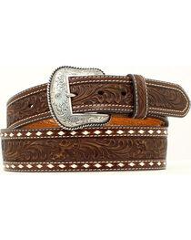 Nocona Belt Co. Men's Tooled Leather Belt, , hi-res