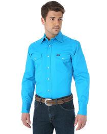 Men's Wrangler Advanced Comfort Work Shirt, , hi-res