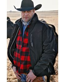 STS Ranchwear Men's Young Gun Black Jacket - Big & Tall - 4XL, , hi-res