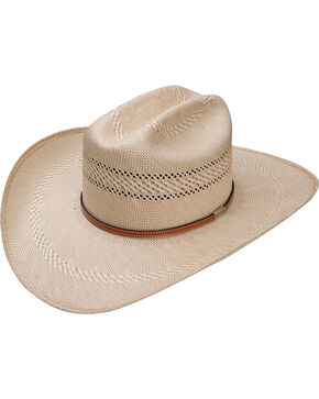 Resistol Men's Natural 50X Open Range Panama Straw Hat , Natural, hi-res