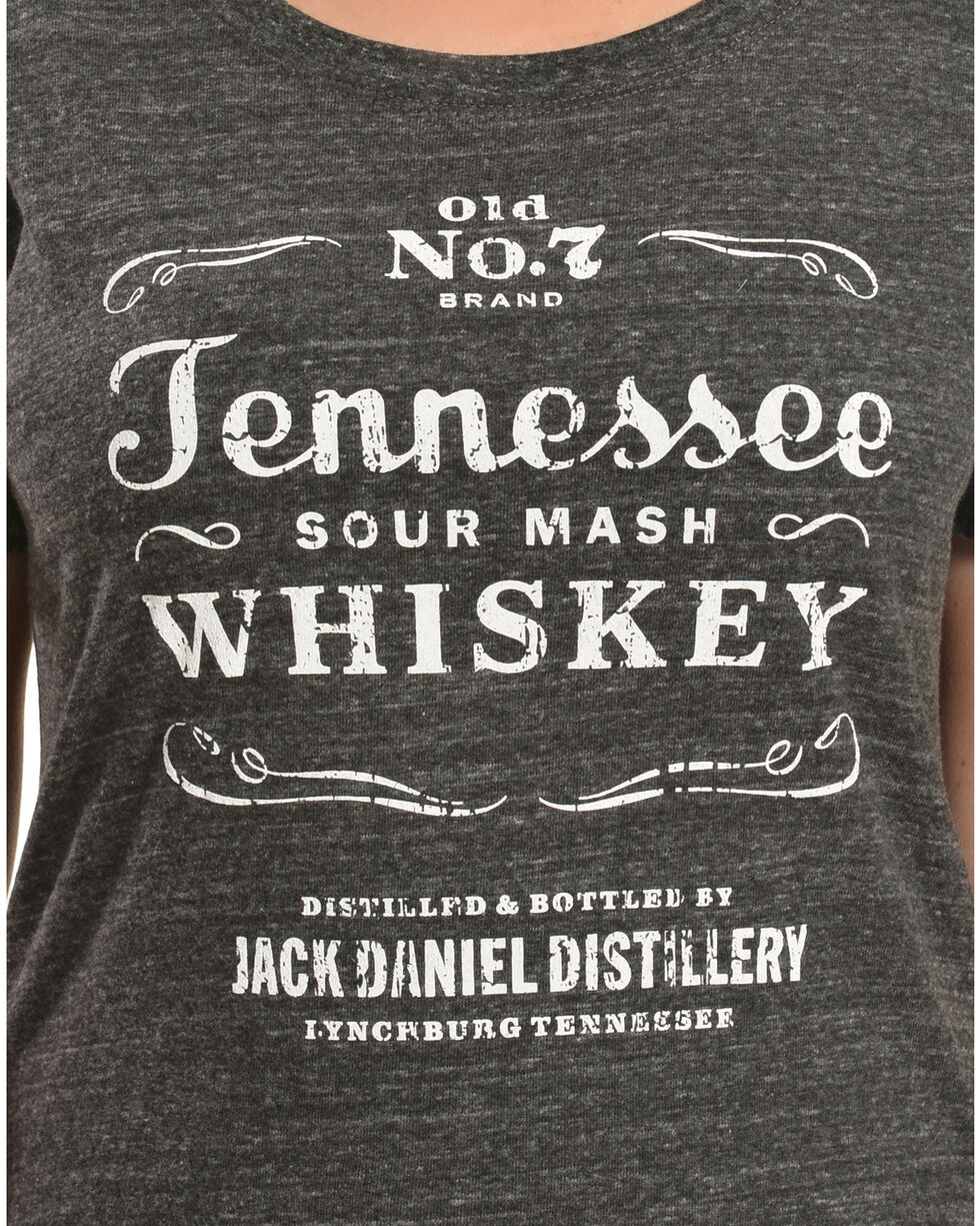 Jack Daniel's Women's Tennessee Sour Mash Whiskey Tee, Grey, hi-res