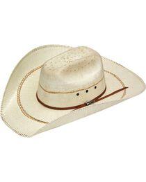 Twister Bangora Maverick Colton Straw Cowboy Hat, , hi-res