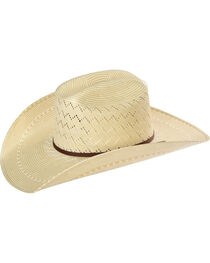 Resistol Men's Tate Promo Straw Hat , , hi-res