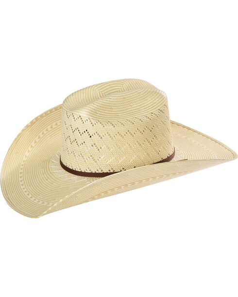 Resistol Men's Tate Promo Straw Hat , Tan, hi-res
