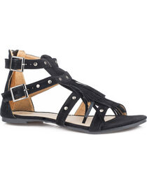 Roper Women's Black Maya Sandals , , hi-res