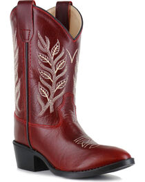 Shyanne® Girls' Embroidered Western Boots  , , hi-res