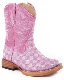 Roper Infant Glitter Western Boots, , hi-res