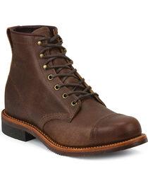 Chippewa Men's Pebbled General Utility Homestead Boots, , hi-res