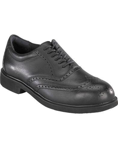 Rockport Works Dressports Oxford Work Shoes - Steel Toe, Black, hi-res