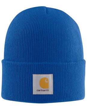 Carhartt Men's Acrylic Watch Hat, Blue, hi-res