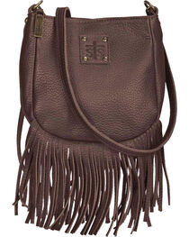STS Ranchwear Chocolate Medicine Bag , , hi-res
