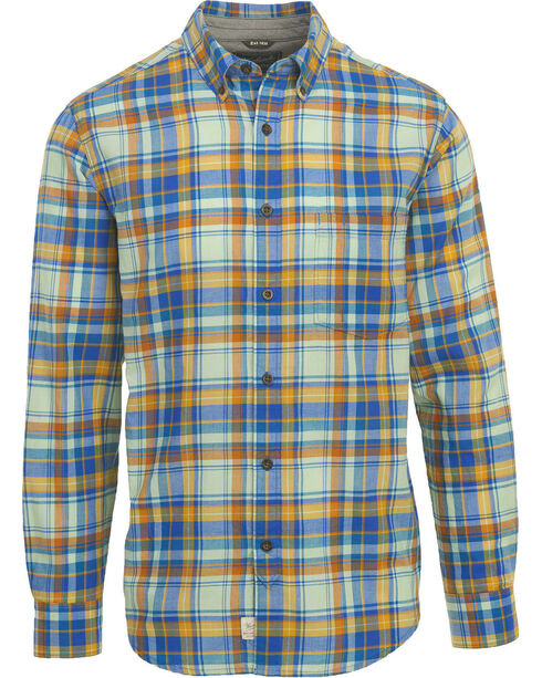 Woolrich Men's Oak Springs Eco Rich Plaid Shirt , Light/pastel Blue, hi-res