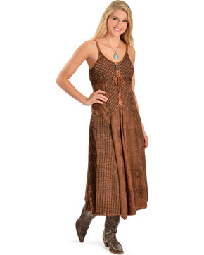 Honey Creek by Scully Women's Maxi Dress, Copper, hi-res