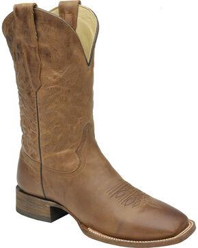 Corral Men's Waxi Western Boots, Cognac, hi-res