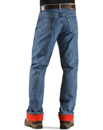 Wrangler Jeans - Rugged Wear Relaxed Fit Flannel Lined, , hi-res