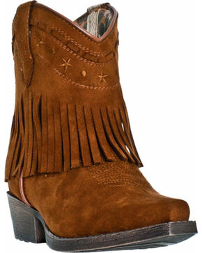 Laredo Children's Gingersnap Western Boots, Rust, hi-res