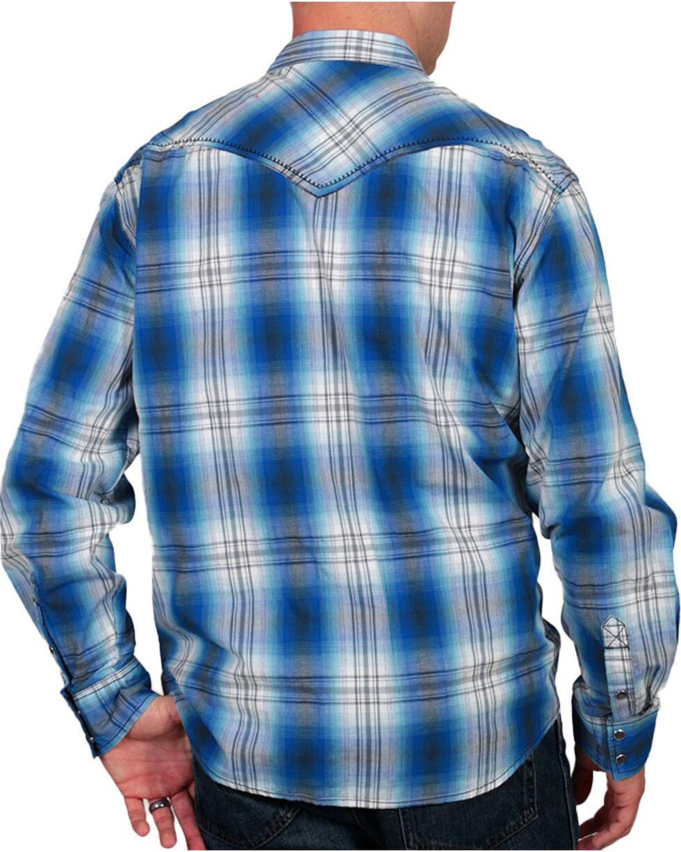 Moonshine Spirit Men's Plaid Print Western Shirt, , hi-res