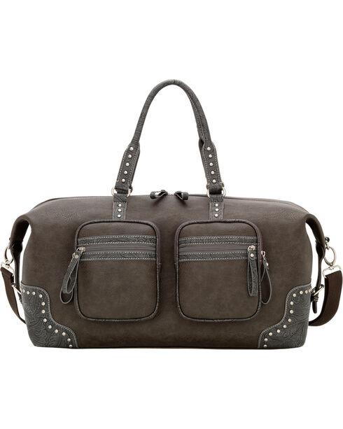 Bandana Lake Tahoe Carry All Duffle Bag, Charcoal Grey, hi-res