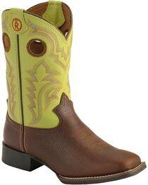 Tony Lama Boys' Tiny Lama 3R Cowboy Boots - Square Toe, , hi-res