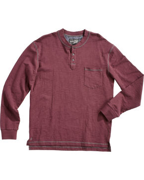 Moonshine Spirit Men's Amplitude 2 Long Sleeve Shirt , Maroon, hi-res