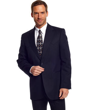Circle S Men's Abilene Sport Coat, Black, hi-res