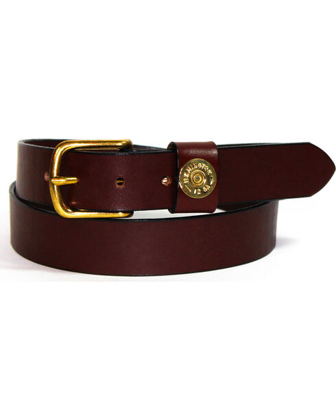 SouthLife Supply Men's Cash Single Shot Belt, Chocolate, hi-res