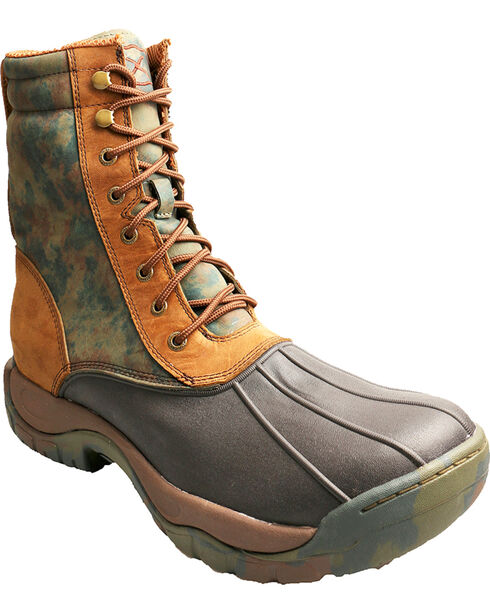 Twisted X Men's Guide Waterproof Outdoor Boots, Brown, hi-res