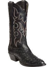 Nocona Men's Vintage Full-Quill Ostrich Western Boots, , hi-res