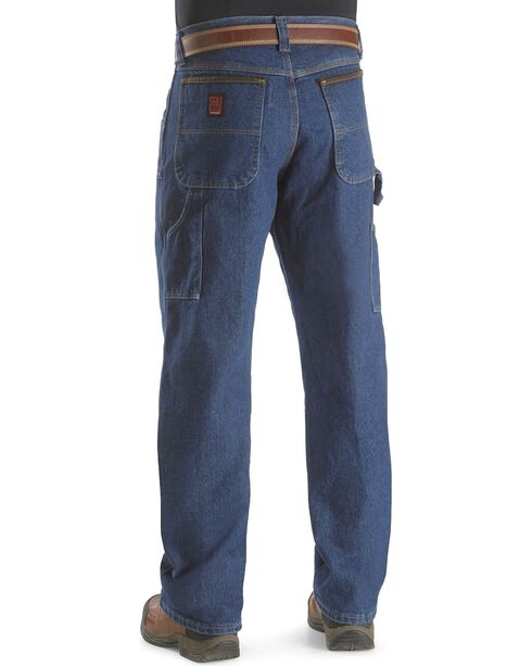 Riggs Workwear Men's Utility Work Jeans, Antique Indigo, hi-res