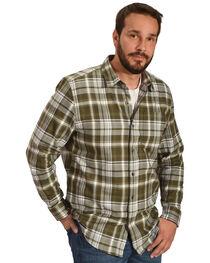 Timberland PRO Men's Navy Plaid Flannel Work Shirt, , hi-res