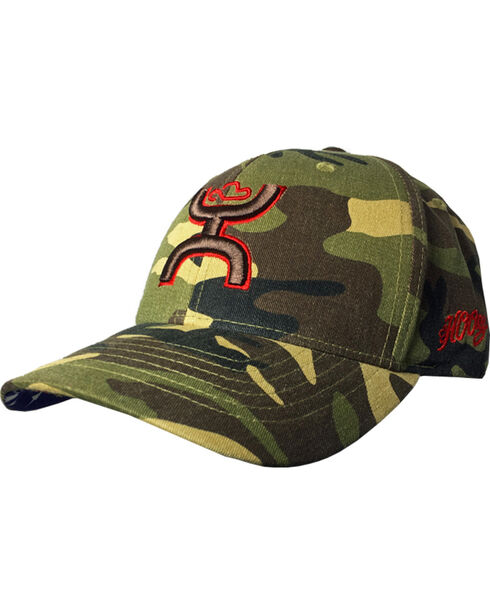 Hooey Men's Camo Chris Kyle Adjustable Baseball Cap , Camouflage, hi-res