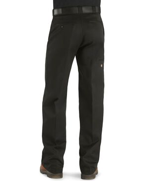 Dickies Loose Fit Double Knee Work Pants, Black, hi-res