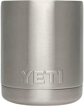 YETI Rambler Lowball Cup, Silver, hi-res