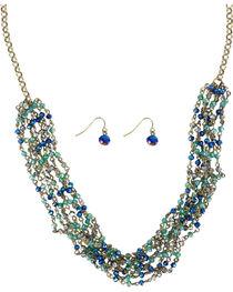 Shyanne® Women's Crystal Jewelry Set, , hi-res