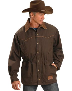 Exclusive Gibson Trading Co. Western Ranch Coat, Chocolate, hi-res